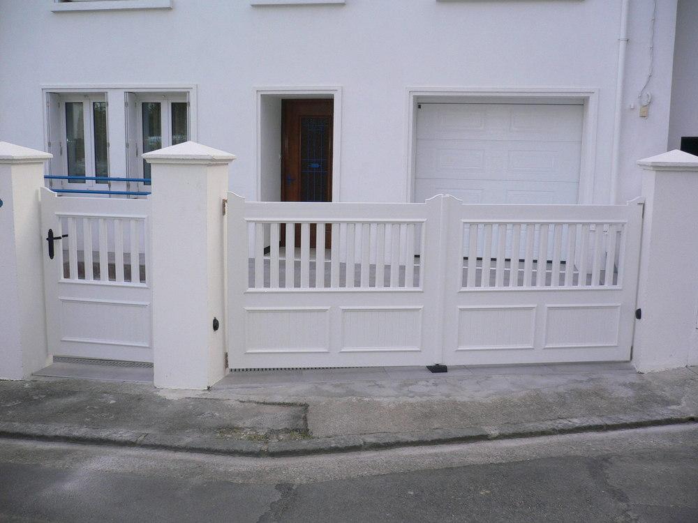 clotures portails. Black Bedroom Furniture Sets. Home Design Ideas